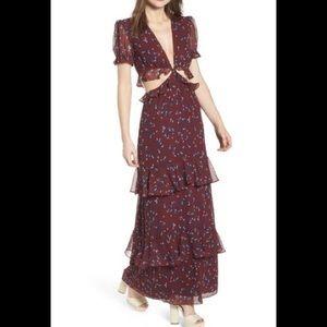 WAYF Laviana Maxi Dress NWT $109